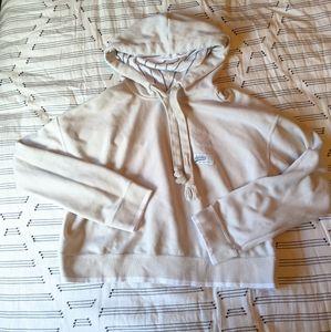 RARE cream colored Adidas crop sweatshirt